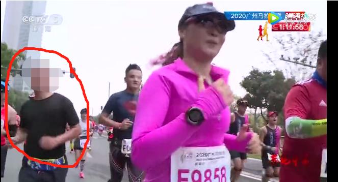 广马近3000人弃赛,一男子蹭跑参赛,跑友吵翻了!
