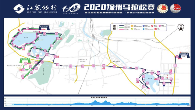 三赛合一,奥运马拉松选拔赛,2021徐州马拉松3月21日开跑!